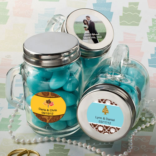 Personalized Mason Jar Favors